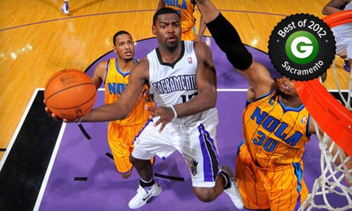Sacramento Kings - Sleep Train Arena: Sacramento Kings NBA Game at Sleep Train Arena on February 10 or 19 (Half Off). Two Seating Options Available.