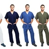 Green Town Men's Scrubs Set (2-Piece)