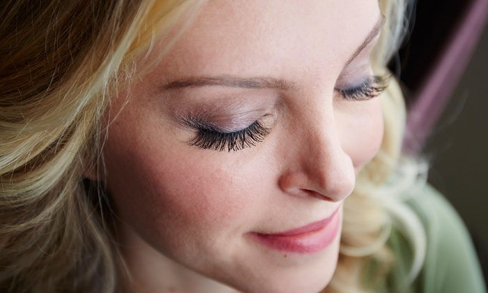 New Town Nails & Lash Studio - Victoria: Set of Natural or Glamour Eyelash Extensions with Optional Fills at New Town Nails & Lash Studio (Up to 52% Off)