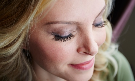 Full Set of Eyelash Extensions at Maple Salon (51% Off)