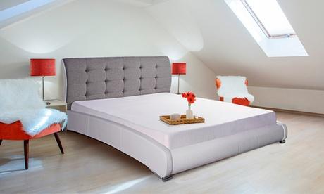 Cama de diseño Victoria desde 329 € y con colchón con viscoelástica desde 549 €
