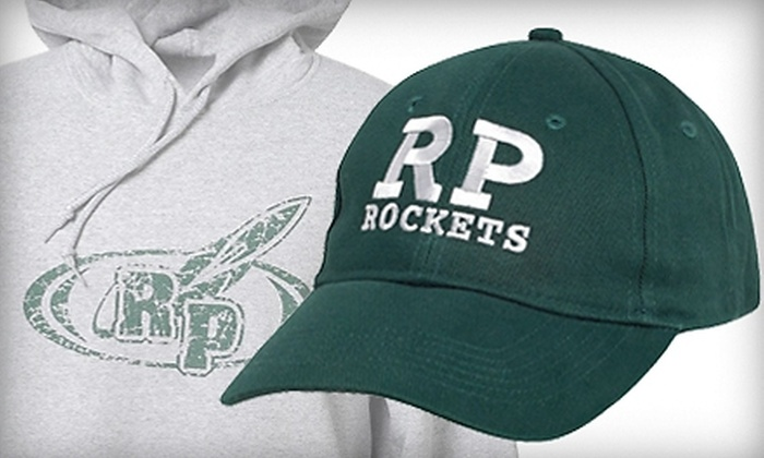 Rocket Express - Muskegon: Reeths-Puffer High School Apparel at Rocket Express (50% Off). Two Options Available.