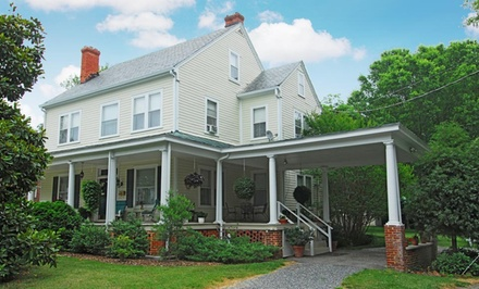 Groupon Deal: 1- or 2-Night Stay for Two with Optional In-Room Breakfast at The Grey Swan Inn Bed and Breakfast in Blackstone, VA