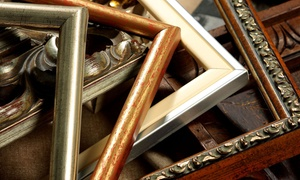 Creative Edge: Custom Framing at Creative Edge (Up to 61% Off)