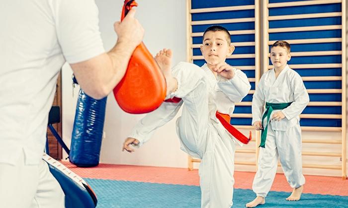 Silva Taekwondo - Inglewood: 6 or 12 Taekwondo Classes with Free T-Shirt at Silva Taekwondo (Up to 87% Off)