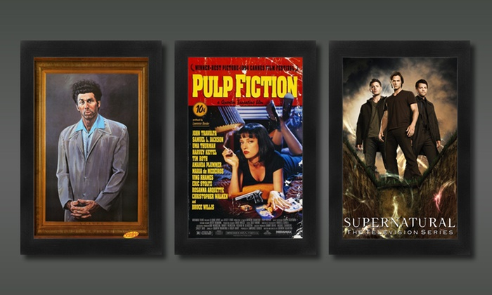 """36""""x24"""" Framed Film and Television Posters: 36""""x24"""" Framed Film or Television Poster. Multiple Movies and TV Shows Available. Free Shipping and Returns."""