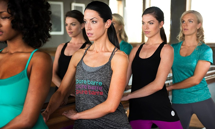 Pure Barre Weston - Davie: 5 or 10 Barre Fitness Classes or Month of Unlimited Barre Fitness Classes at Pure Barre (Up to 62%Off)