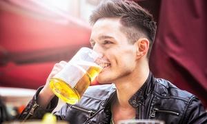 The Shakespeare: Bier-Tasting mit 9 verschiedenen Bieren für Zwei oder Vier im The Shakespeare