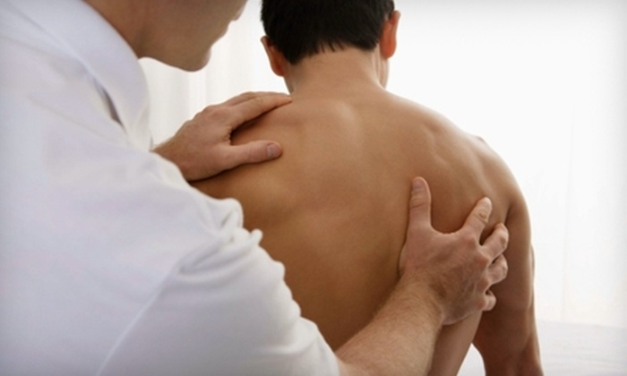 HealthSource Chiropractic and Progressive Rehab - Greenville: $29 for Chiropractic Exam and One-Hour Massage at HealthSource Chiropractic and Progressive Rehab ($75 Value)