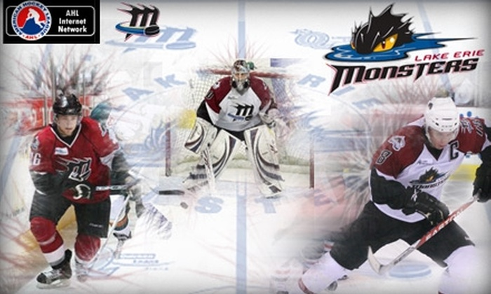 Lake Erie Monsters AHL Hockey - Cleveland: $17 for One Ticket to Lake Erie Monsters AHL Hockey (Up to $29 Value)