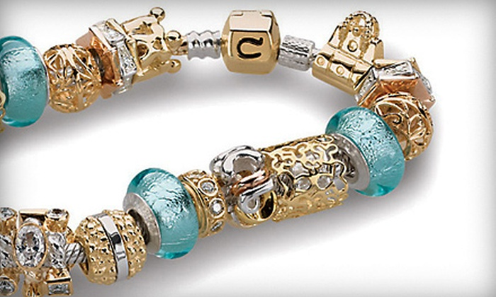 Trends & Traditions - San Marcos: $65 for a Sterling Chamilia Charm Bracelet with Two Sterling Charms at Trends & Traditions in San Marcos ($135 Value)