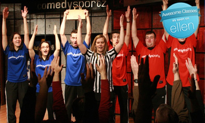 ComedySportz Improv Theatre - Brookland: Improv Classes or Kid's Birthday Party at Comedysportz Improv Theater in Henrico. Four Options Available.