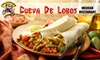 Cueva De Lobos Mexican Restaurant - Southwest Raleigh: $7 for $15 Worth of Mexican Fare and Drinks at Cueva De Lobos Mexican Restaurant