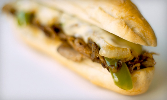 Philly's Cheesesteaks and More - Liberty Wells: Regular Sandwich Combos for Two or $10 for $20 Worth of Sandwiches and Soups at Philly's Cheesesteaks and More
