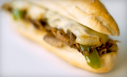 2 Regular 8-Inch Combo Meals (a $19 value) - Philly's Cheesesteaks and More in Salt Lake City