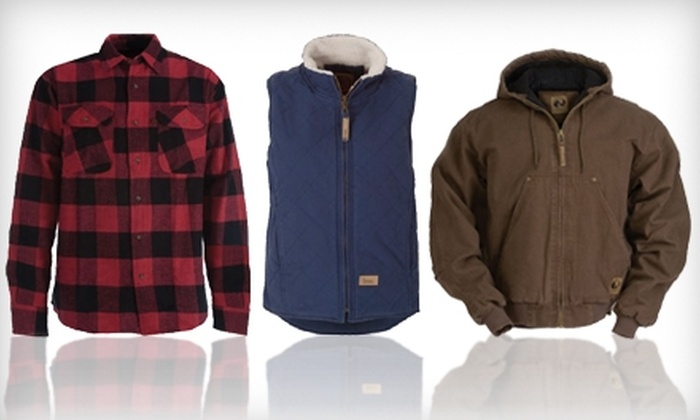 Berne Apparel: $20 for $40 Worth of Work and Outdoor Attire from Berne Apparel Online