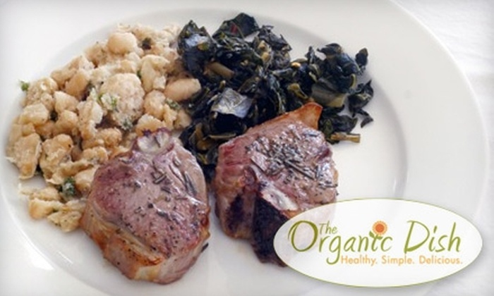 The Organic Dish - Transit Village: $29 for Two Ready-to-Cook Meals from The Organic Dish in Boulder ($48.50 Value)
