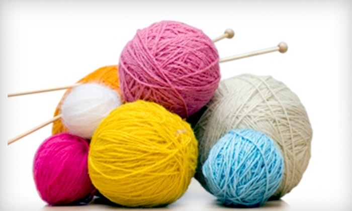 Gotta Knit! - Midtown South Central: $52 for Two Private Knitting Lessons ($110 Value) or $62 for Lessons Plus $20 Worth of Supplies ($130 Value) at Gotta Knit!