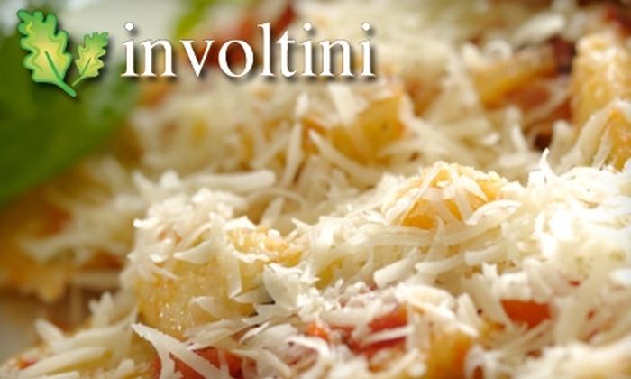 Involtini Ristorante - Oakridge: $15 for $30 Worth of Italian Dinner and Drinks at Involtini Ristorante (or $7 for $15 Worth of Lunch)