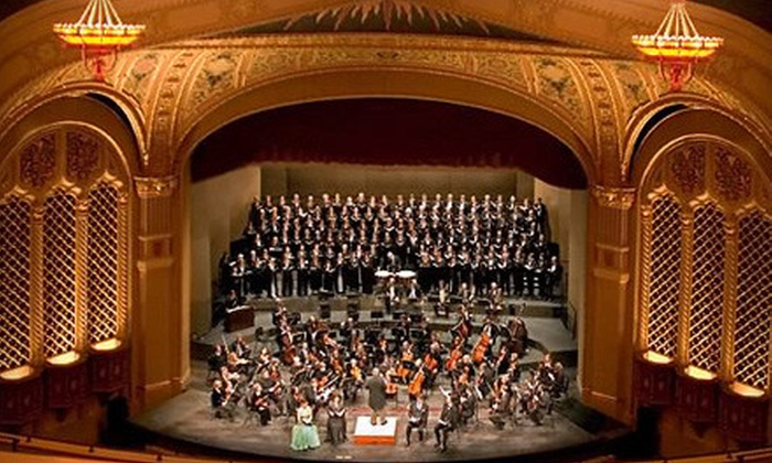 Symphony Silicon Valley - Downtown San Jose: Four Concerts with Orchestra, Mezzanine, Dress-Circle, or Grand-Tier Seating at Symphony Silicon Valley (Up to 60% Off)