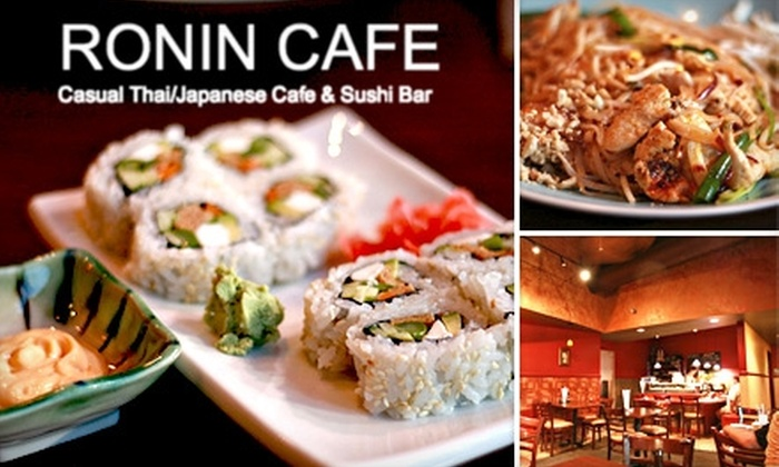 Ronin Cafe - Lakeville: $15 for $35 Worth of Thai & Japanese Fare & Drinks at Ronin Cafe