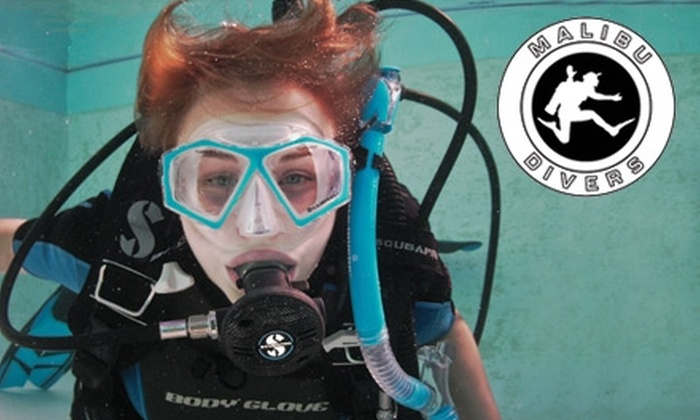 Malibu Divers - Eastern Malibu: $24 Intro to Scuba Diving Lesson at Malibu Divers ($50 Value)
