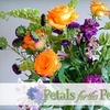 H.BLOOM - Multiple Locations: $12 for a Flower Bundle and Online Arrangement Instruction from Petals For The People ($25 Value)