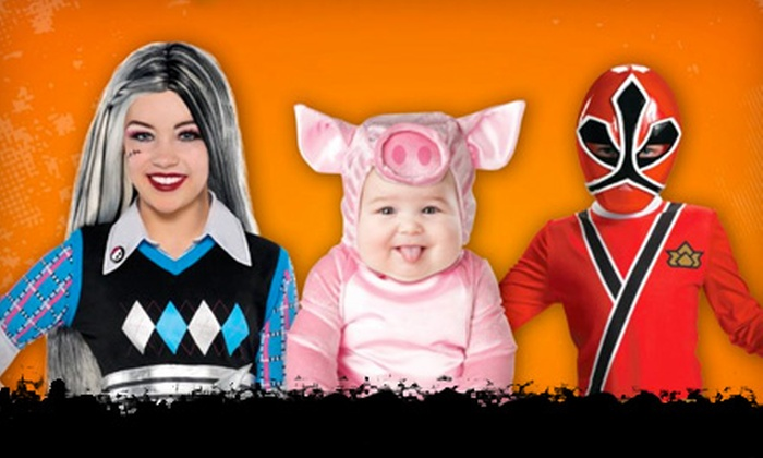 Halloween Costume Warehouse - Colonia Del Valle: $10 for $20 Worth of Halloween Costumes at Halloween Costume Warehouse