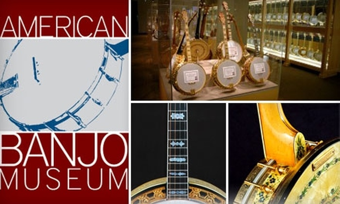 American Banjo Museum - Downtown Oklahoma City: $6 for Two Adult Admissions to the American Banjo Museum ($12 Value)