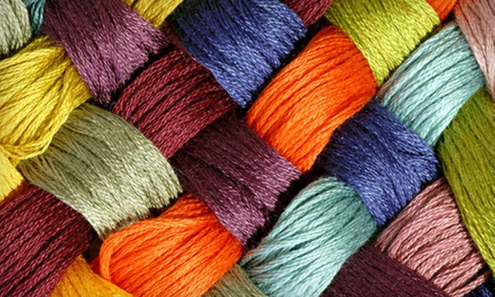 Fibergé - Montgomery: Introductory Knitting Class for One or Two with Included Materials at Fibergé (Up to 51% Off)