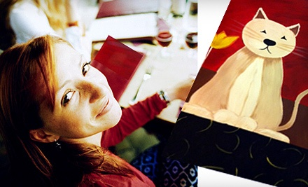 Good for a Social Painting Class (up to a $45 value) - Oklahoma Canvas in