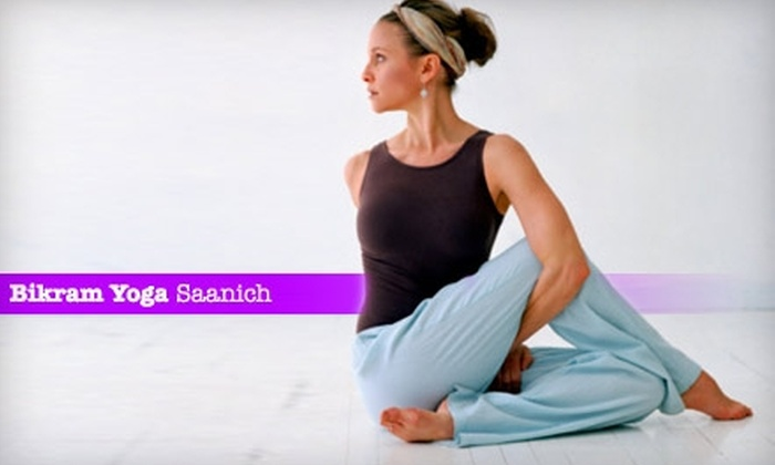 Bikram Yoga Saanich - Victoria: $39 for One Month of Unlimited Classes at Bikram Yoga Saanich ($169 Value)
