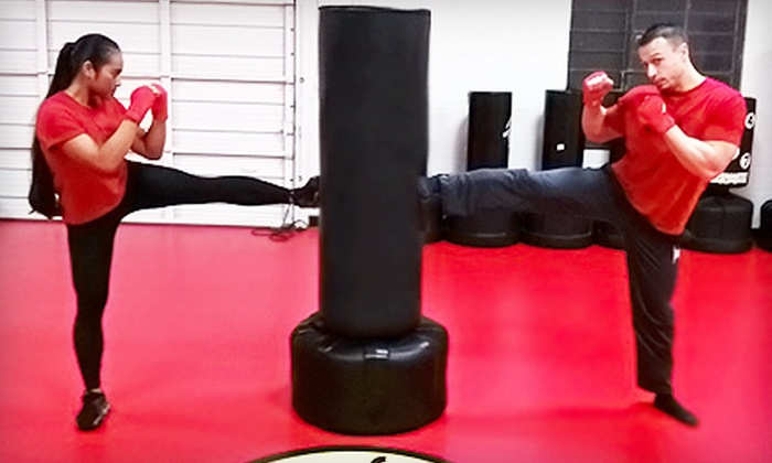 The Fit Factory - Modesto: 10 or 20 Kickboxing Classes at The Fit Factory (Up to 83% Off)