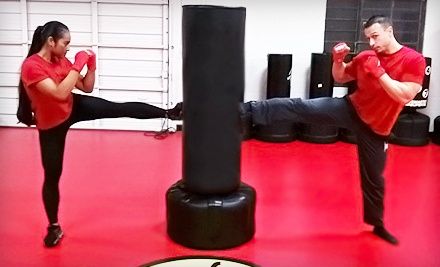 10 Kickboxing Classes (a $100 value) - The Fit Factory in Modesto