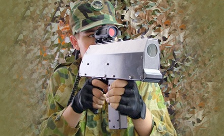 30 Minutes of Indoor Laser Combat for 4 (a $48 value)   - Galaxy Gaming in Sioux Falls