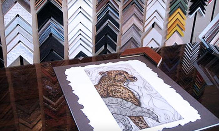 Baas Framing Studio - Stevens: $40 for $100 Worth of Custom Framing at Baas Framing Studio
