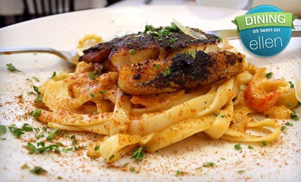 $25 Groupon for Dinner - French Quarter Grille in Austin