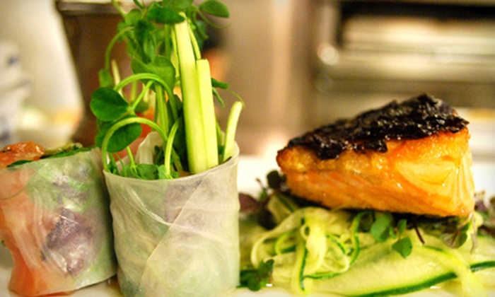 OM Restaurant and Lounge - Harvard Square: $20 for $40 Worth of Southeast Asian Fusion Cuisine at OM Restaurant and Lounge
