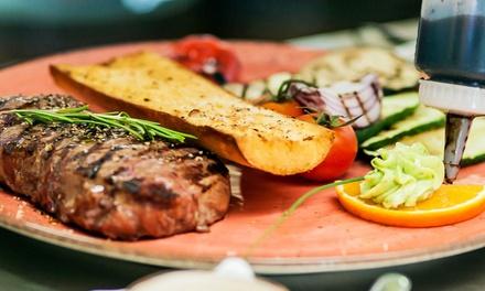 3-Gänge-Menü mit Grillplatte für Zwei oder Vier im Restaurant Belvedere