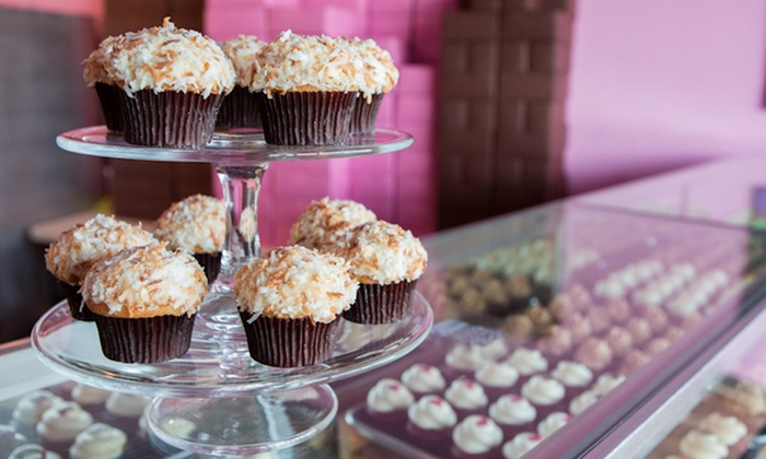 Frostings Bake Shop - Short Pump: $16 for One Dozen Cupcakes at Frostings Bake Shop ($30 Value)
