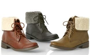 Olive Street Women's Combat Boots