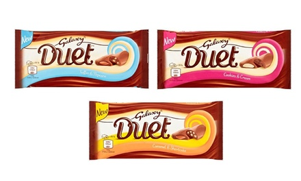24 Galaxy Duet Chocolate Bars for £19.99