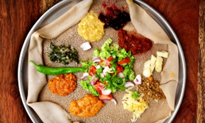 Addis Red Sea - Boston: $12 for $25 Worth of Ethiopian Cuisine Sunday Through Thursday at Addis Red Sea (or $15 for $25 Friday and Saturday)
