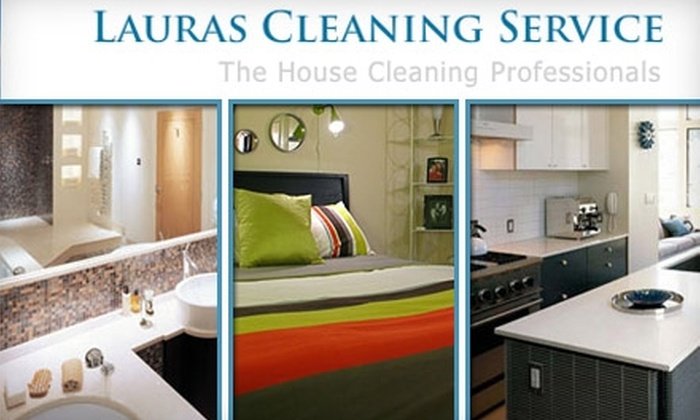 Laura's Cleaning Service - Washington DC: $39 for a Bathroom and Kitchen Cleaning from Laura's Cleaning Service ($130 Value)
