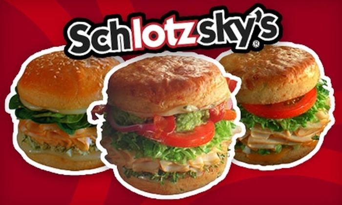 Schlotzsky's - Augusta Street Area: $6 for $12 Worth of Sandwiches, Pizza, and More at Schlotzsky's