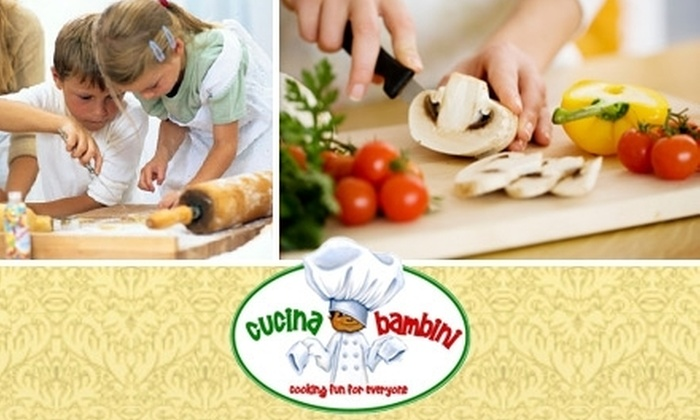 Cucina Bambini - Broadway - Palmhaven: $12 for One Crafty Cooking Class at Cucina Bambini (Up to $40 Value)