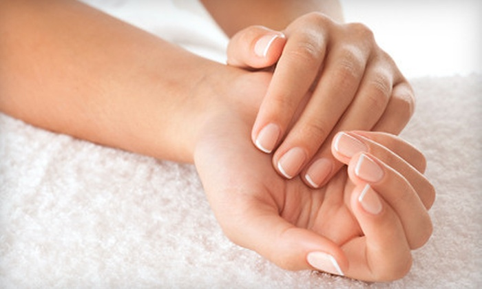Level Salon - Downtown East: Spa Manicure or Pedicure at Level Salon (Half Off)