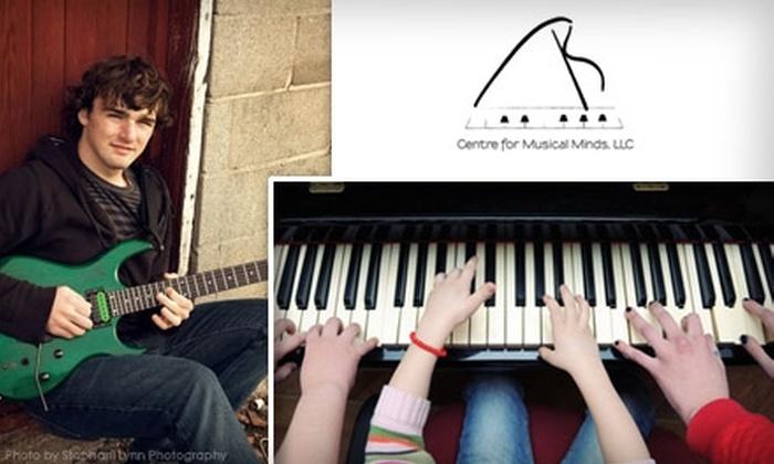 Centre for Musical Minds - Frisco: $70 for Four Private Musical Lessons at Centre for Musical Minds, LLC ($160 Value)
