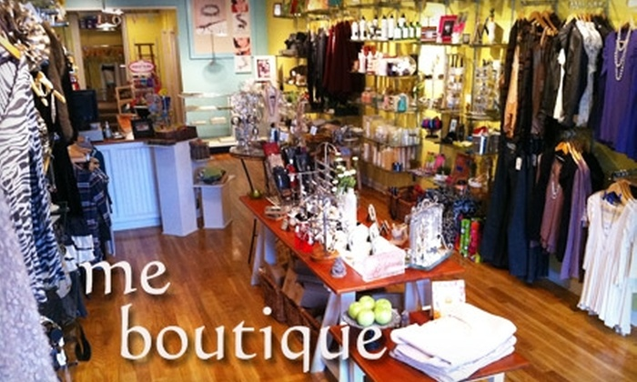 Me Boutique - Downtown / Harbor / Post Road South: $20 for $40 Worth of Chic Fashions at Me Boutique in Milford