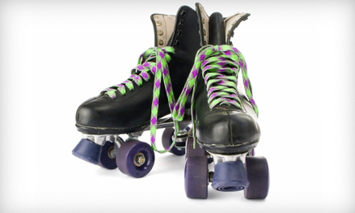 Greenbrier Family Skating - Greenbrier Family Skating: Roller Skating for Two or Four at Greenbrier Family Skating (Up to Half Off). Four Options Available.